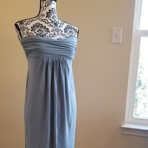 Banana Republic Maternity Sea Blue Dress Medium